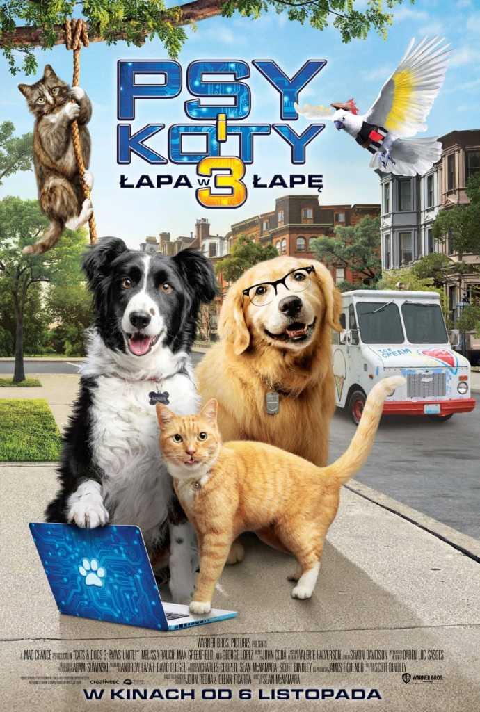 Gdzie oglądać online Psy i koty 3: Łapa w łapę?