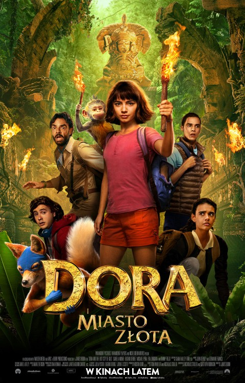 Gdzie oglądać Dora i Miasto Złota?
