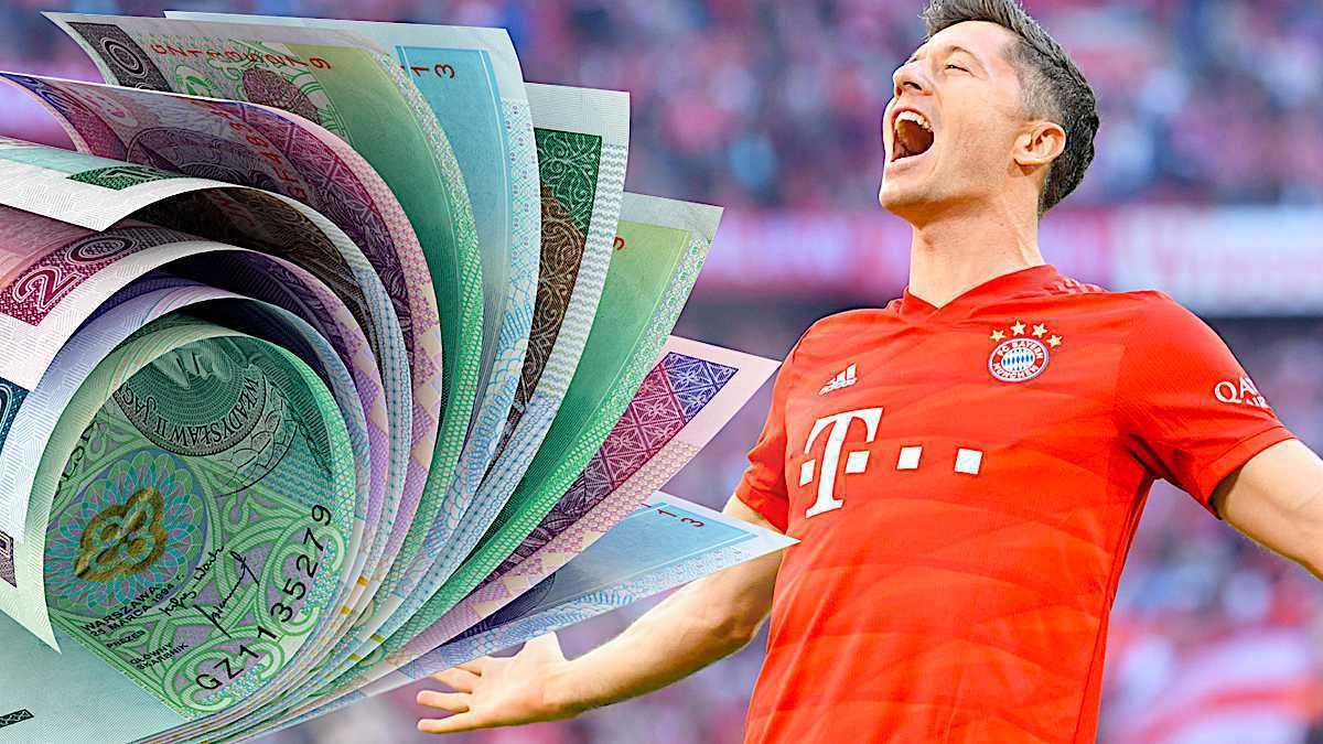 Robert Lewandowski zarobił milion złotych na małym triku!